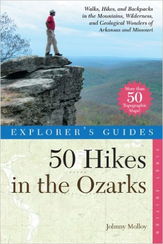 50 Hikes in the Ozarks Cover